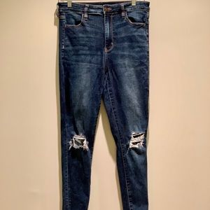 AE Ne(x)t Level Stretch High Waisted Ripped Jeans